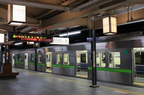 10-300Rと高尾山口駅