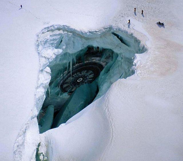 南極つらくUFO
