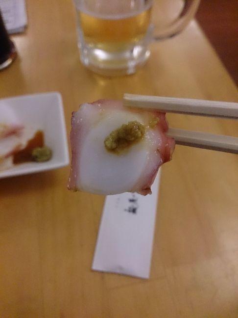 たこ刺し(1)