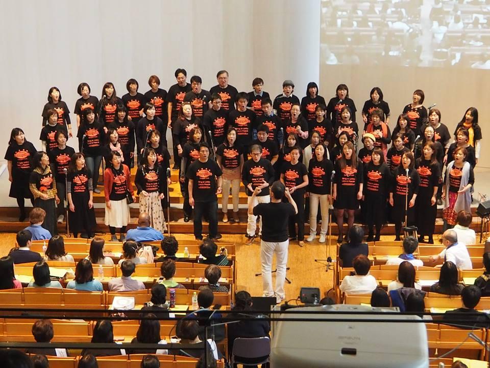 Happy Easter 2017 - Sunny Side Gospel Club Yokohama