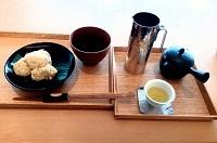茶酒 金田中 わらび餅