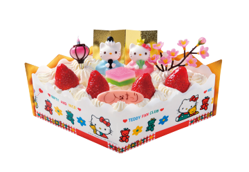 ハローキティ菱生ケーキSサイズ