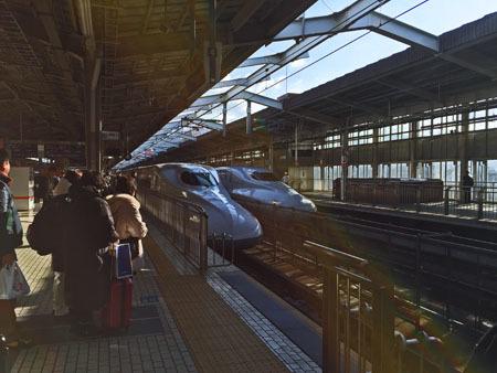 ブログ用 新幹線往路