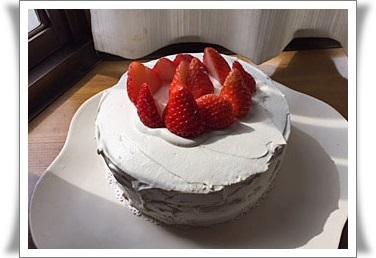 3月4日 ショートケーキ