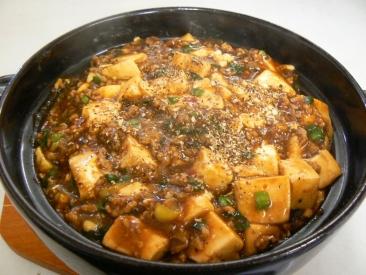 麻婆豆腐ニラ