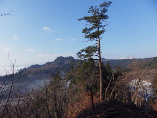 170416 一本松と屋敷岳