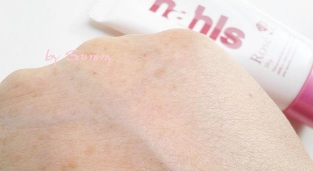 ナールスロゼ 201702 塗った肌