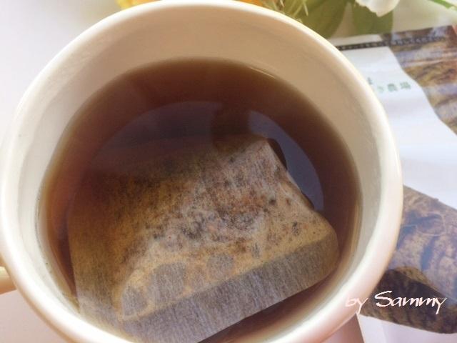 有機高原のごぼう茶 入れたばかり