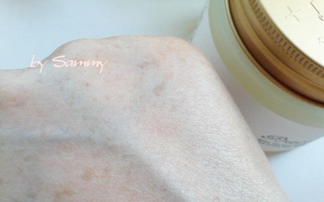 ルルルンプレシャスクリーム 塗った肌