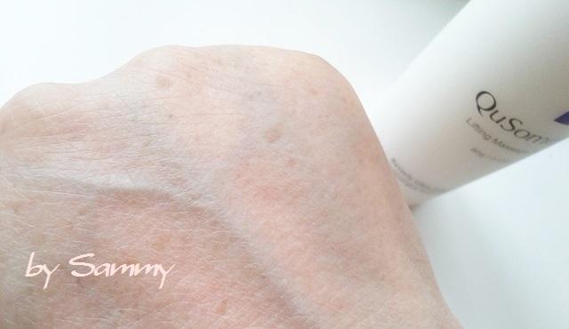 ビーグレン QuSomeリフト 塗った肌