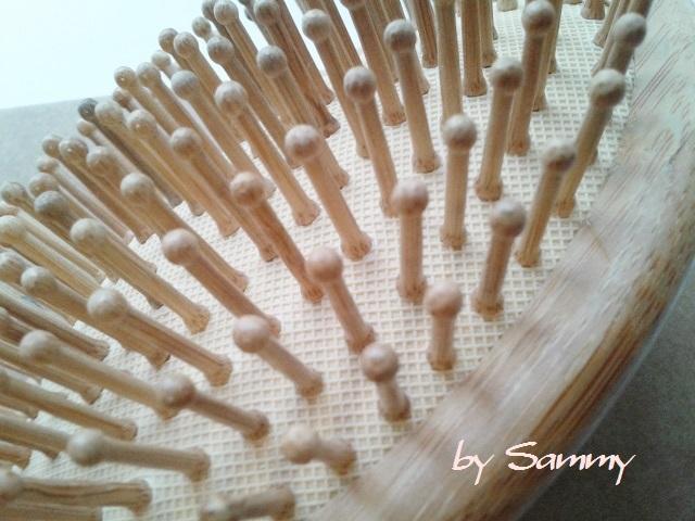 竹製ブラシ クッション部分