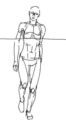 女将官 素体
