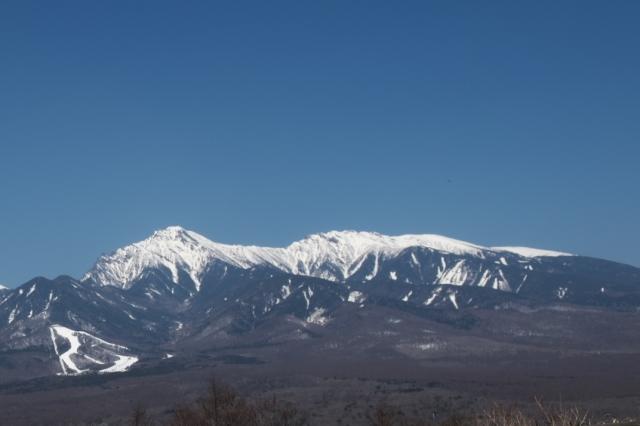 八ヶ岳連峰の眺望