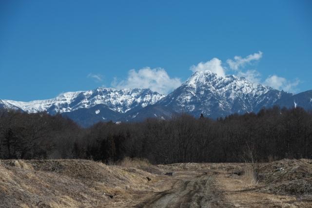 八ヶ岳連峰-赤岳
