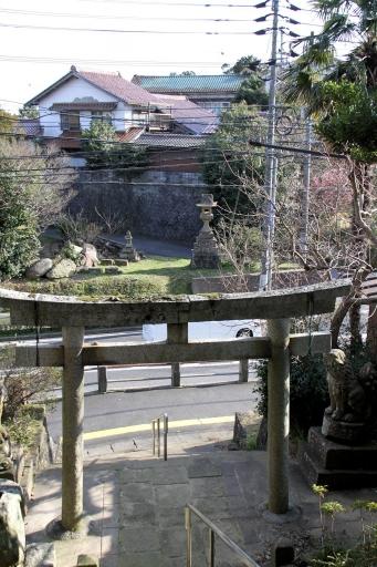 須賀神社参道