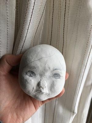 20170413 球体関節人形 顔