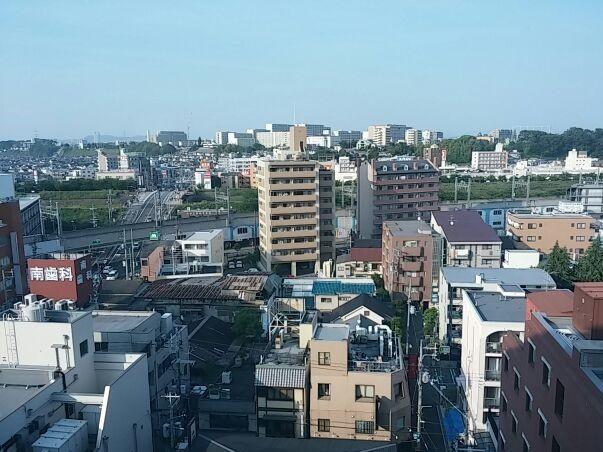 枚方T-SITE 8階からの風景① (2)