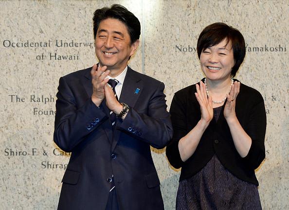 安倍夫妻 2017 2