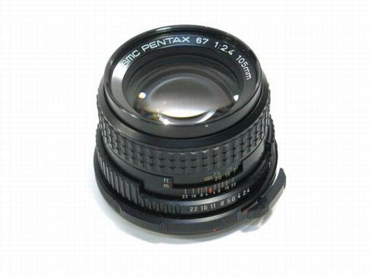 ペンタックス SMC 67,105mm 1:2,4レンズ