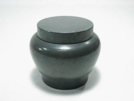 古錫 栄祥堂造 茶壷