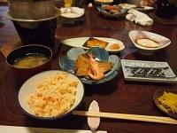 三国温泉 朝食2