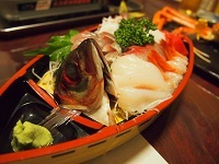 三国温泉 夕飯2