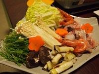 三国温泉 夕飯3