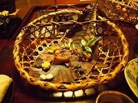 平湯温泉 夕飯1