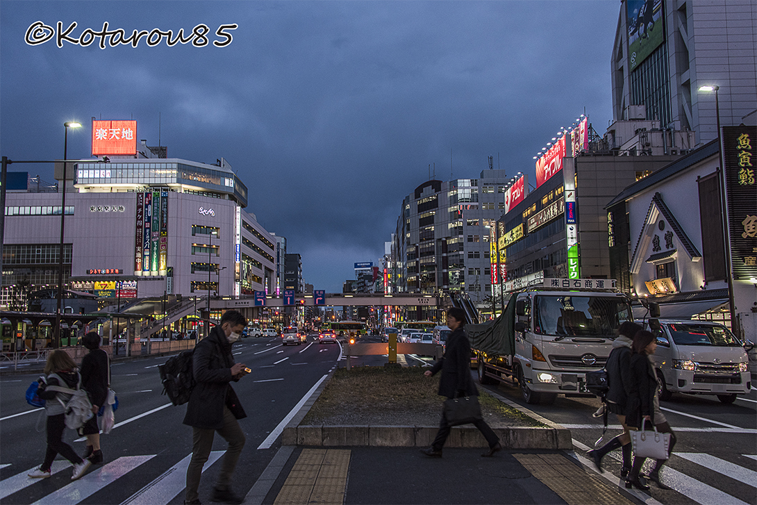 錦糸町夕景 20170215
