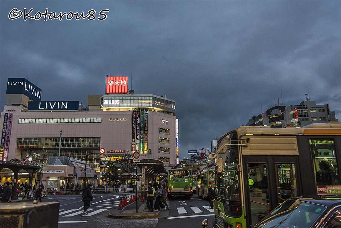 錦糸町夕景2 20170215