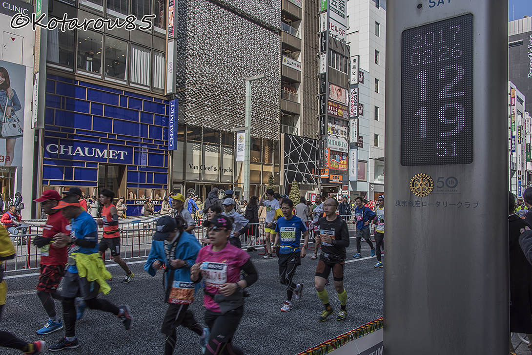 東京マラソン 20170227