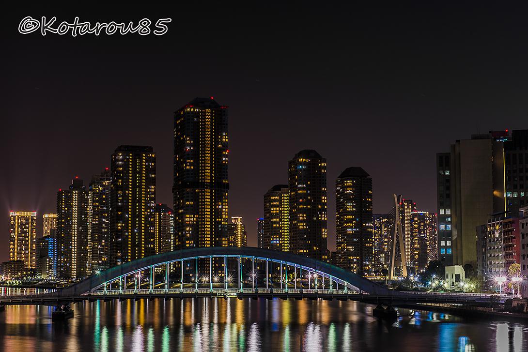 隅田川大橋から 20170301