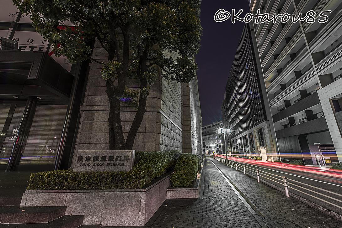 春の深夜 東京証券取引所3 20170324