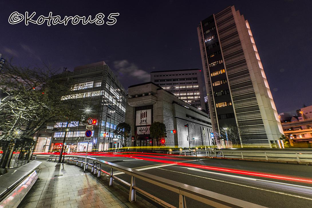 春の深夜 東京証券取引所4 20170324