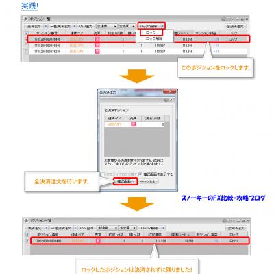 ヒロセ通商FXポジションロック2