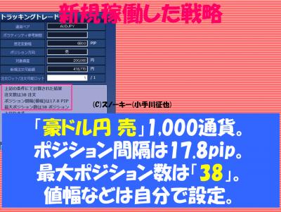 20170226トラッキングトレード検証豪ドル円ショート