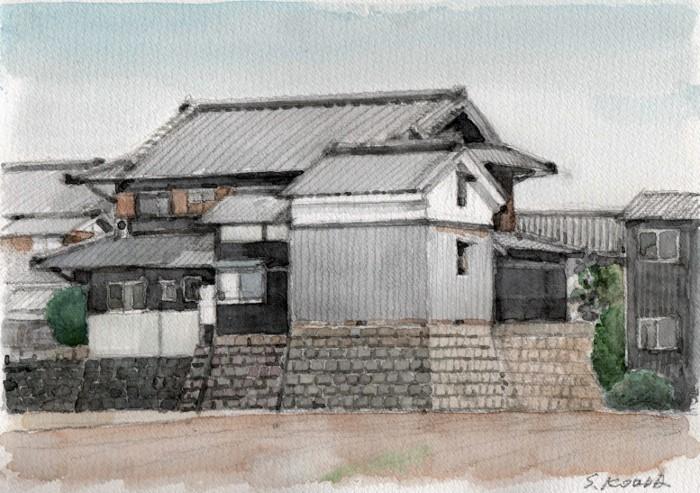関西の民家 高槻 (700x493)