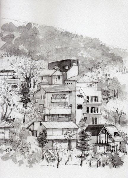 東条湖岸の別荘 グリザイユ (432x600)