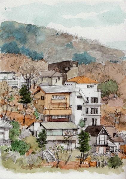 東条湖岸の別荘 (422x600)