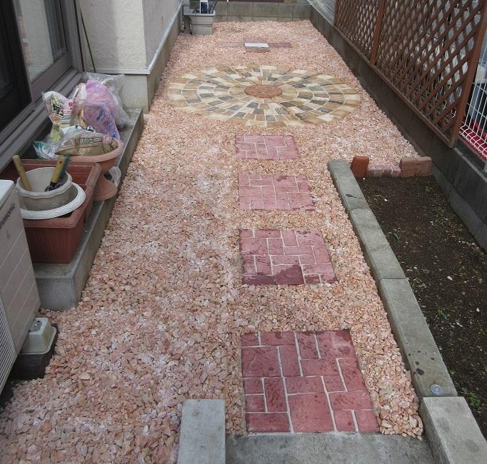 庭いじり完了