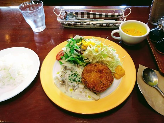 Blog resumption is lunch in kitchinnida♪
