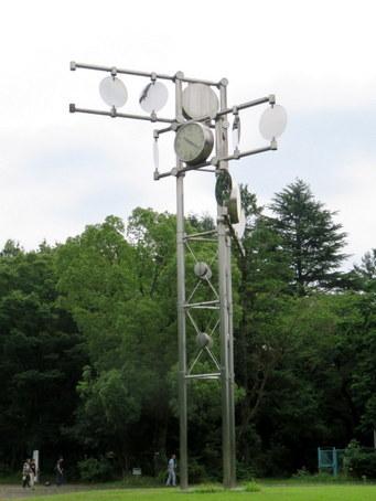 航空公園の時計塔2