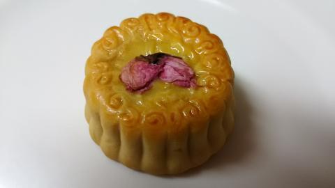 崎陽軒月餅桜 (2)