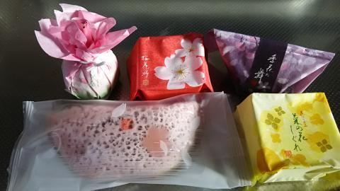 清閑院春の和菓子 (1)