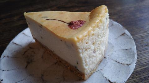 南果桜チーズケーキ (2)