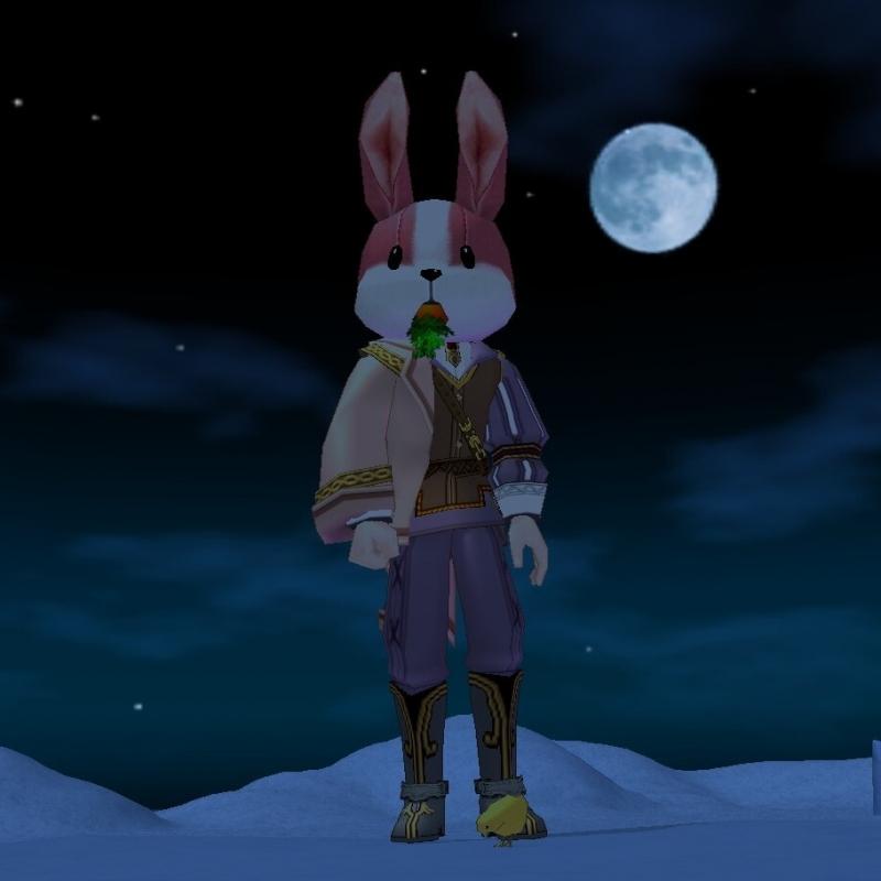 月さん クラさんと同時加入!人間さんとはオイラと付き合いのながぁ~いマビ娘(?)です!