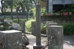 西郷隆盛誕生の地石碑1