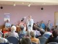 三味線と笛と歌の生演奏