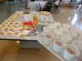 飲み物と食べ物もたくさん用意(^ー^* )