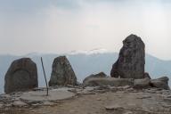 ホテルから徒歩3分の「王ヶ頭山頂」標高2,034m